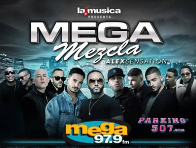 #ESTRENO ALEX SENSATION'S MEGA MEZCLA– THE LEADING LATIN AND URBAN MUSIC CONCERT IN NEW YORK RETURNS IN 2016