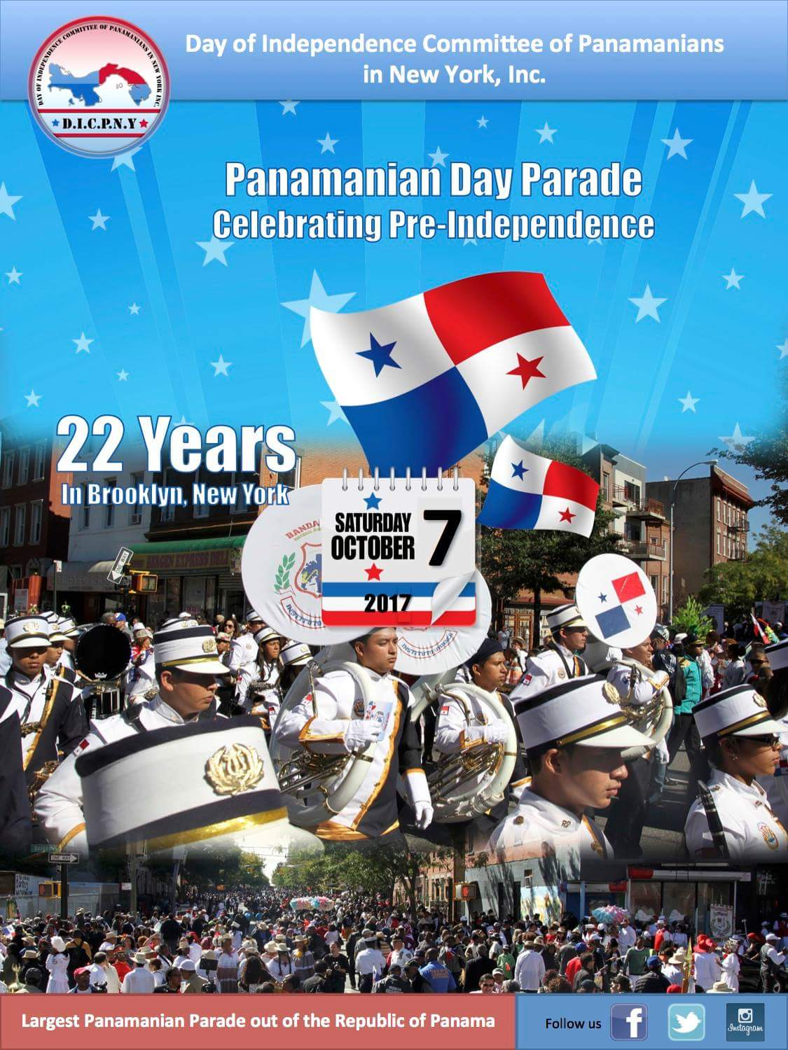 Panamanian-Day-Parade-Brooklyn-2017