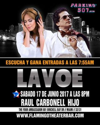"""VIVE LAVOE"""" TRIBUTE TO HECTOR LAVOE BY RAUL CARBONELL JR. AT THE FLAMINGO THEATER FOR FATHER'S DAY"""